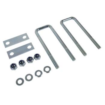 Universal Deichselbox Staubox Befestigungssatz medium für PKW Anhänger
