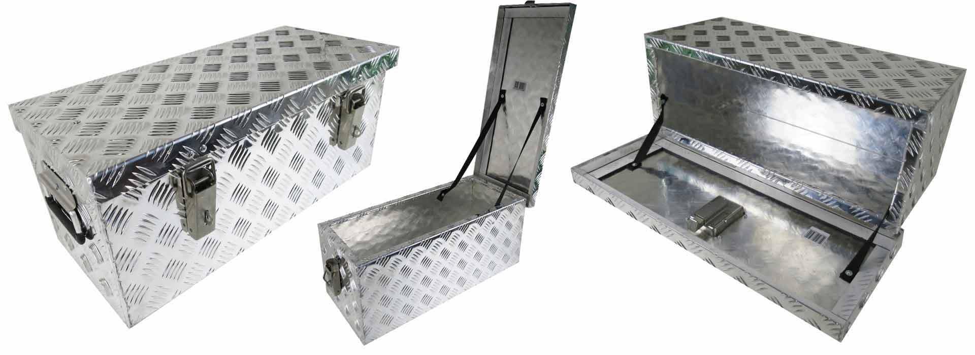 Deichselboxen / Unterbauboxen