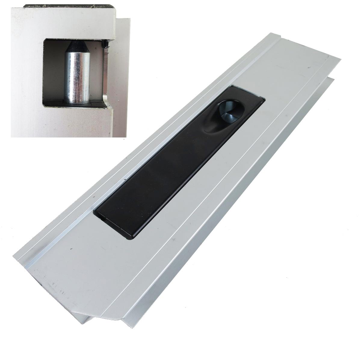 bordwandverschluss mit anschlag 350 mm links alu bordwand 25mm f r pkw anh nger 990003316. Black Bedroom Furniture Sets. Home Design Ideas