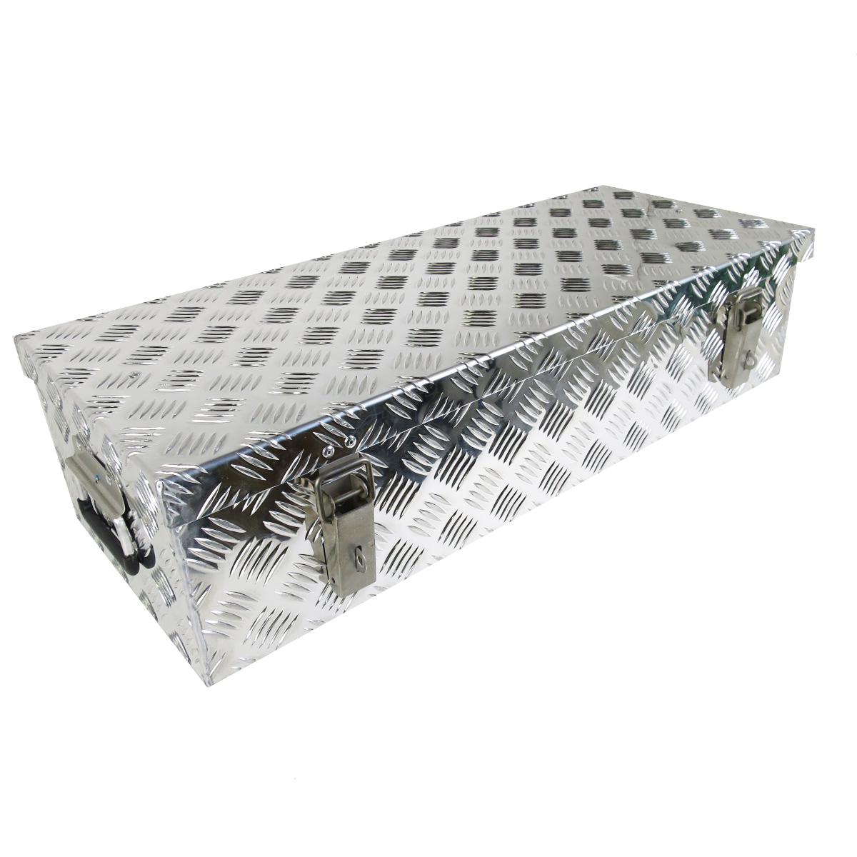 deichselbox staubox aus aluminium 820 x 320 x 200mm f r. Black Bedroom Furniture Sets. Home Design Ideas