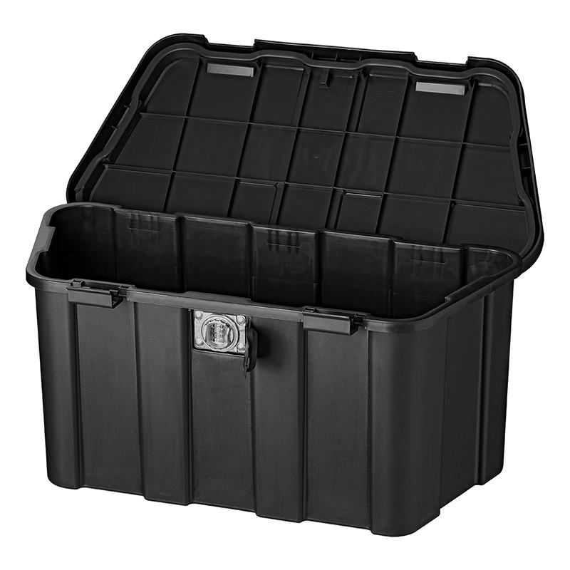 Storage Box Plastic Drawbar With, Storage Box With Lock