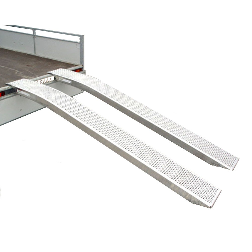 1t alurampen rampen auffahrschienen verladeschienen 2 5m motorrad rasentraktor 990004438. Black Bedroom Furniture Sets. Home Design Ideas