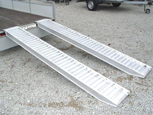 3350kg set alu verladeschienen verladerampen auffahrschienen 2650 x 320mm 990004428. Black Bedroom Furniture Sets. Home Design Ideas
