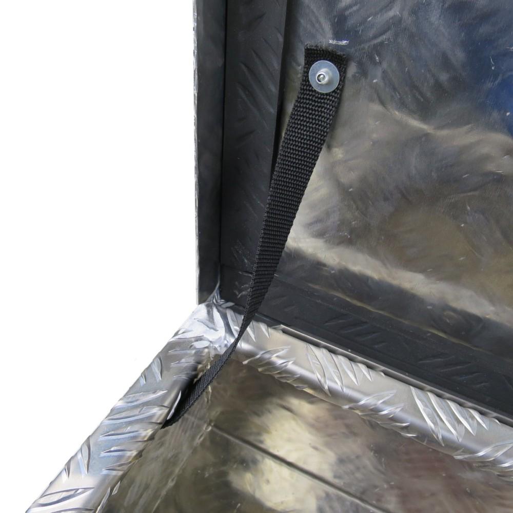 deichselbox staubox aus aluminium 820 x 330 x 160mm f r pkw anh nger ebay. Black Bedroom Furniture Sets. Home Design Ideas