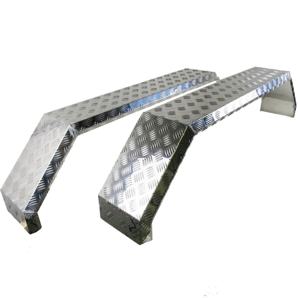 2 x tandem kotfl gel aus alu breite 230 mm spannweite 1500 mm f r pkw anh nger 990004247. Black Bedroom Furniture Sets. Home Design Ideas