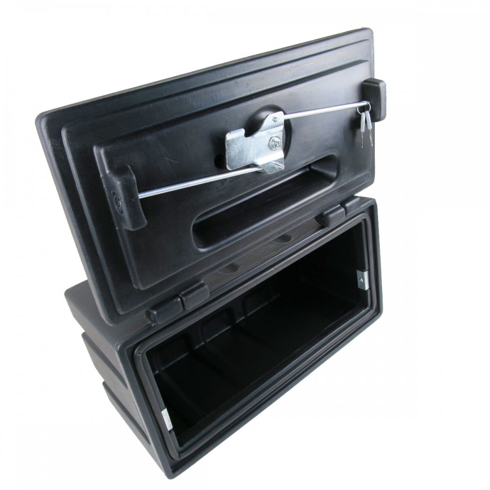 staubox unterbaubox aus kunststoff 500 x 250 x 250mm f r anh nger ebay. Black Bedroom Furniture Sets. Home Design Ideas