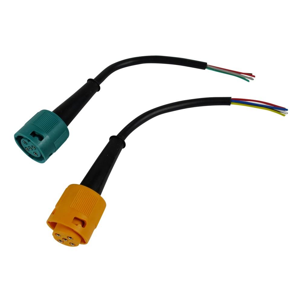 Anschluss-set 5-polig 15cm für Rückleuchten mit Bajonettanschluss ...