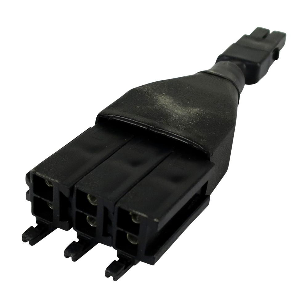 Verteiler für Kabelsatz mit Abgang von 1 auf 3