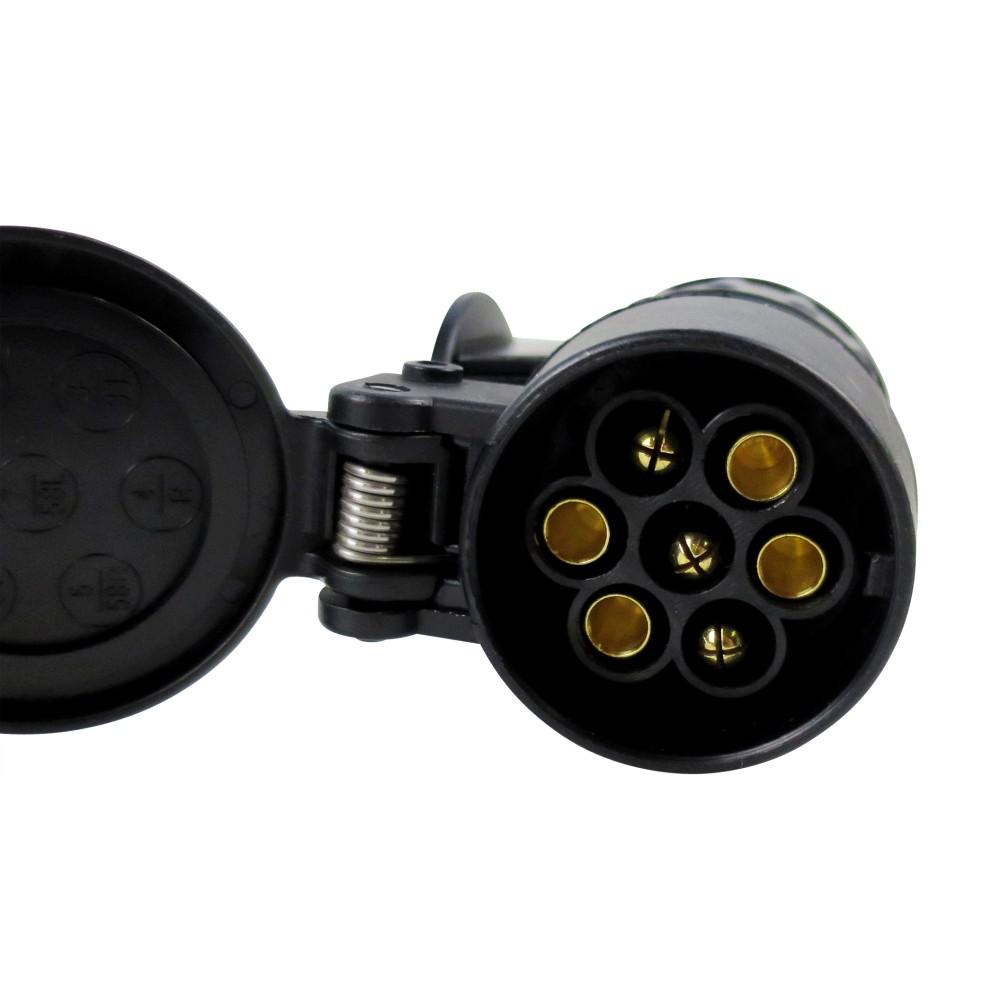 adapter 13 polig ahk anh ngerkupplung auf anh nger 7 polig. Black Bedroom Furniture Sets. Home Design Ideas