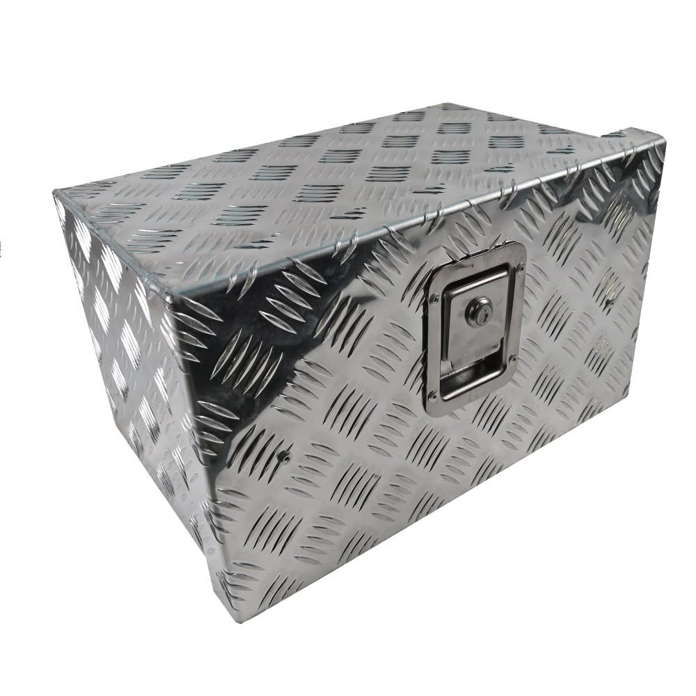 Unterbaubox / Unterflurbox / Staubox Aluminium 420 x 250 x 260mm f ...