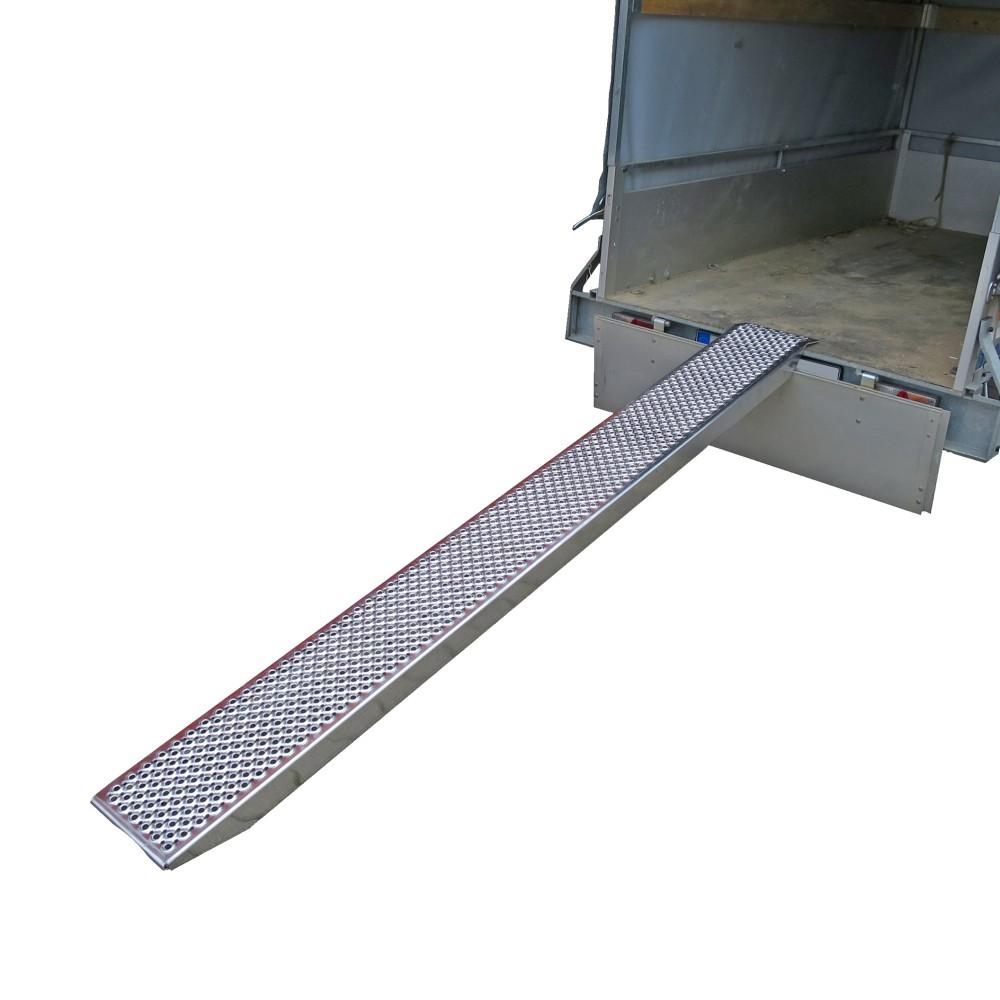 Auffahrrampe Aus Aluminium 2500 X 260 X 75 Mm 500 Kg Belastbarkeit