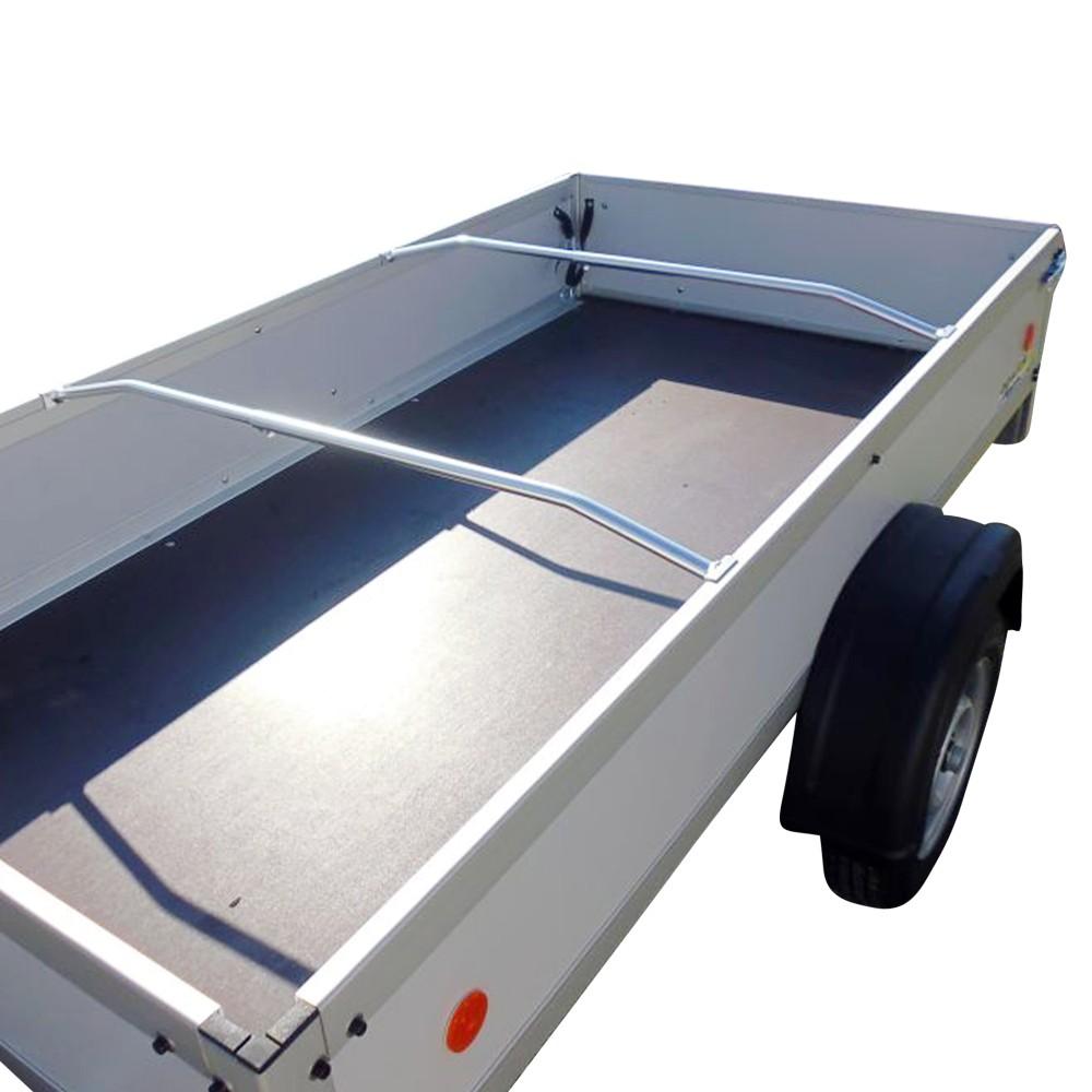 2 x alu b gel f r flachplane ideal f r pkw anh nger 1 0 1 45m verstellbar ebay. Black Bedroom Furniture Sets. Home Design Ideas