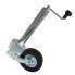 Hochwertiges Automatik Stützrad mit Universalflansch für PKW Anhänger Trailer