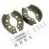 Bremsbacken Bremsbeläge hochwertig für ALKO 200x50 Typ 2050 / 2051 Pkw Anhänger