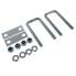 Universal Deichselbox Staubox Befestigungssatz small für PKW Anhänger