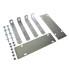 Befestigungssatz für Unterbauboxen / Stauboxen für PKW Anhänger Transporter